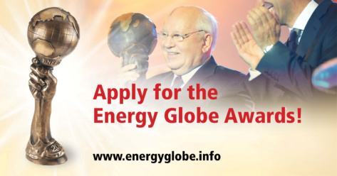 Energy Globe Awards 2017, candidatez avant le 1er novembre 2016
