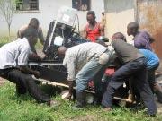 Groupe électrogène à l'huile de palme et développement de l'huilerie (RD du Congo)