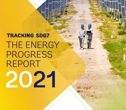 Rapport 2021 de suivi de l'ODD 7 publié par l'IRENA en coopération avec l'AIE, la Division Statistique des Nations Unies, la Banque Mondiale et l'OMS.
